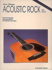 Cover of: Acoustic Rock for Guitar