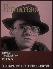 Cover of: Petrucciani: Original Transcription