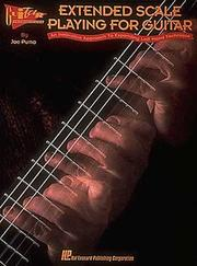 Cover of: Extended Scale Playing for Guitar