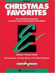 Cover of: Essential Elements Christmas Favorites - Conductor Book with CD