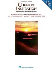Cover of: Country Inspiration ((Piano-Vocal-Guitar Ser.)) | Hal Leonard Corp.