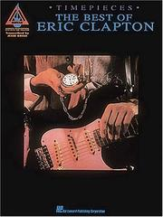 Cover of: Eric Clapton - Timepieces