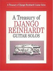 Cover of: Django Reinhardt - A Treasury Of Songs