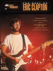 Cover of: 060. The Best Of Eric Clapton (Best of Eric Clapton) | Eric Clapton