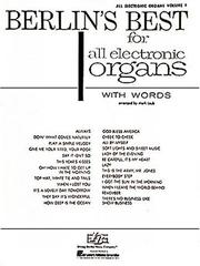 Cover of: Berlin's Best For All Electronic Organs