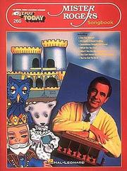 Cover of: 260. Mister Rogers' Songbook (Mister Rogers Songbook)