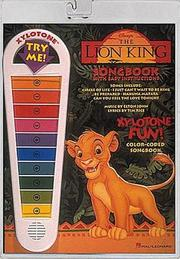 Cover of: The Lion King (Xylotone Fun!)