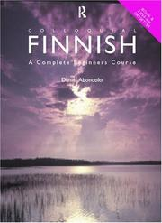 Cover of: Colloquial Finnish
