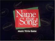 Cover of: Name That Song W/Piano Fun! | Hal Leonard Corp.