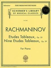 Cover of: Etudes Tableaux, Op. 33 and 39
