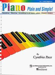 Cover of: Piano Plain and Simple |