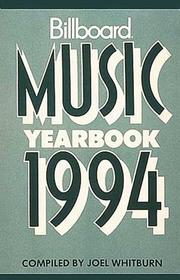 Cover of: Music Yearbook 1994