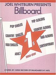 Cover of: Billboard #1's 1950-1991 Softcover