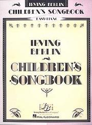 Cover of: Irving Berlin's Children's Songbook