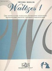 Cover of: Irving Berlin Waltzes No. 1