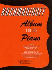 Cover of: Album for Piano