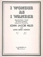 Cover of: I Wonder as I Wander