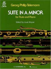 Cover of: Suite in A Minor