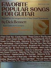 Cover of: Favorite Popular Songs for Guitar