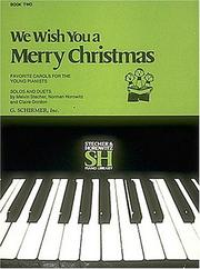 Cover of: We Wish You a Merry Christmas - Book II |