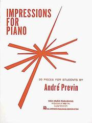 Cover of: Andre Previn