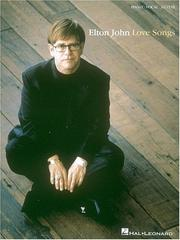 Cover of: Elton John - Love Songs