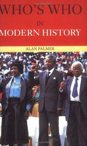 Cover of: Who's Who in Modern History (Who's Who)