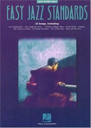 Cover of: Easy Jazz Standards | Hal Leonard Corp.