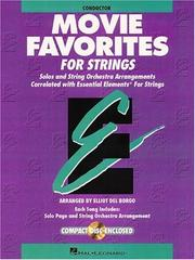 Cover of: Movie Favorites - Conductor Essential Elements for Strings | Dale