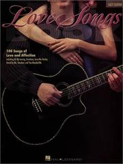 Cover of: The Love Songs Book | Hal Leonard Corp.