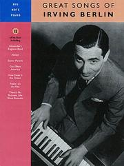 Cover of: Irving Berlin - Great Songs of