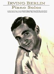 Cover of: Irving Berlin Piano Solos