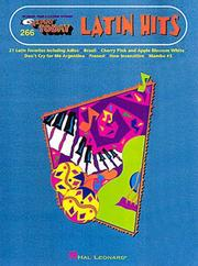 Cover of: 266. Latin Hits | Hal Leonard Corp.