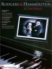 Cover of: Rodgers and Hammerstein at the Piano |
