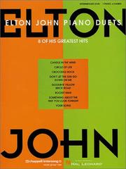 Cover of: Elton John Piano Duets