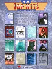 Cover of: 14 Top Hits for Easy Piano | Hal Leonard Corp.