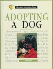 Cover of: Adopting a Dog