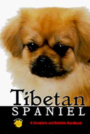 Cover of: The Tibetan spaniel