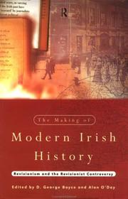 Cover of: The Making of Modern Irish History