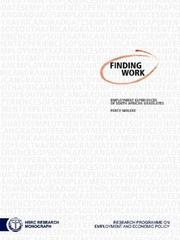 Cover of: Finding Work