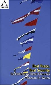Cover of: Real peace, real security