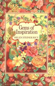 Cover of: Gems of Inspiration
