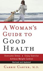 Cover of: Womans Guide to Good Health, A | Carrie Carter M.D.