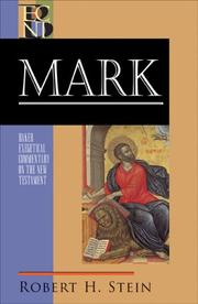 Cover of: Mark (Baker Exegetical Commentary on the New Testament)