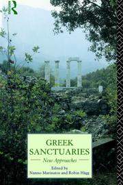 Cover of: Greek Sanctuaries | N. Marinatos