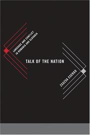 Talk of the nation by Zsuzsa Csergo