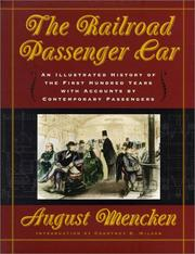 Cover of: The Railroad Passenger Car