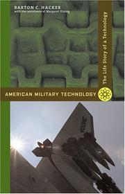 Cover of: American Military Technology | Barton C. Hacker