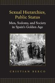 Cover of: Sexual Hierarchies, Public Status | Cristian Berco
