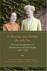 Cover of: A Glorious and Terrible Life with You | Margaret Burgess